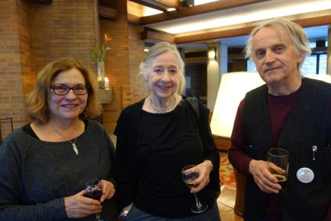 Sandra Eadie, Camilla Gryski, Don Taylor.