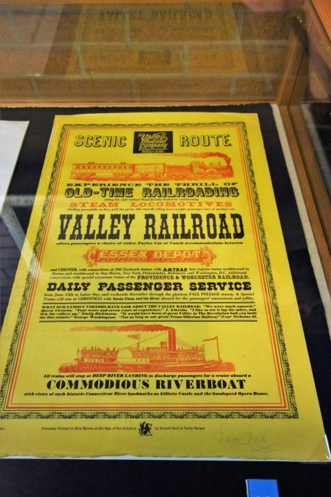 A broadside by Reid: Valley Railroad