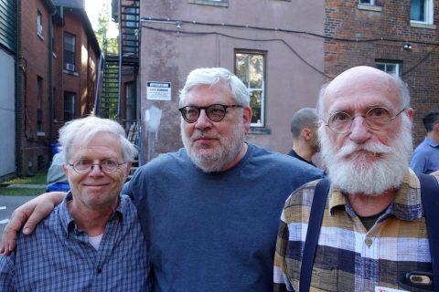 Ken Norris, Jack David, Stan Bevington