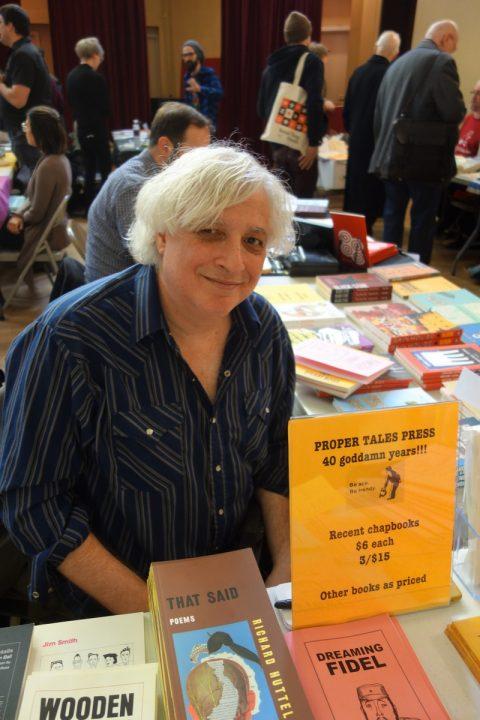 Stuart Ross celebrates forty years of publishing Proper Tales Press.