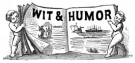 Wit and Humour engraving