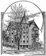 gothic house engraving