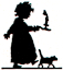 Child nightdress silhouette image