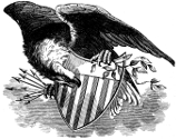 American eagle engraving