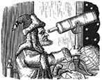 astronomer engraving