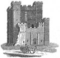 castle engraving