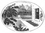 courtyard engraving