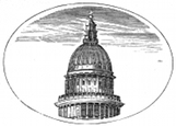 St Paul's cupola engraving