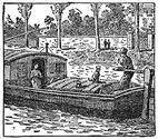 barge engraving
