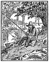 fishing engraving